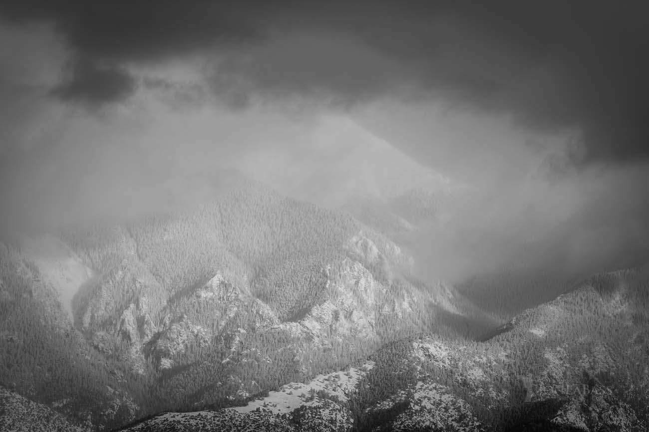 morning, winter, snow, mountains, sand dunes, sangre de cristo, clouds, storm, Colorado Rockies, Colorado Rocky Mountains, Rocky Mountains, Rockies